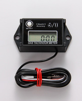 Digital inductive waterproof Hour Meter Tachometer RPM METER for MX motocross Snowmobile ATV Generators tractor pit Motorcycle