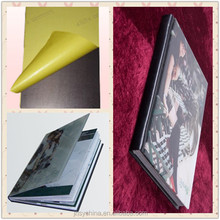 SY self adhesive pvc sheets photo album