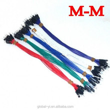Trade Assurance Gold Supplier 1p to 1p 20cm random color male to male jumper wire Dupont cable for Audrino