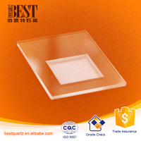 Customized fused quartz XRD plate per your drawing
