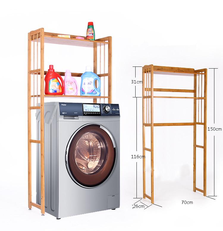 Gentil 2015 NEWEST Antique Bamboo Handmade Shelf Storage Rack Home Furniture  Multifunction Bamboo Washing Machine Storage Rack