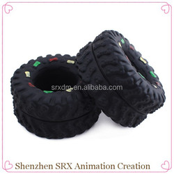 custom black durable rubber tuff tire dong pet chew toy, custom plastic rubber funny pet toy, cheap plastic durable pet toy