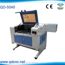 20% discounted mini/desktop laser engraving machine/laser machine to make rubber stamps QD-5040