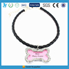 Dog necklace collar with bone sharp heart sharp names for pet dogs