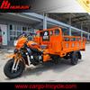 cargo three wheel motorcycle /china gasoline trimotos de carga 250 cc/scooter with cabin