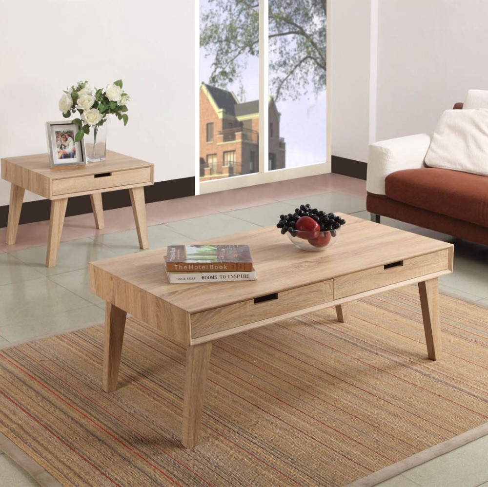 Mobili scandinavi tavolo in legno con cassetto tavolo in for Mobili scandinavi