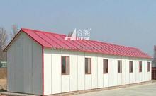 Costruzione di case prefabbricate temporanee per alloggio dei lavoratori, casa modulare per ufficio, piccola casa prefabbricata