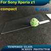 China glare shield , mobil phone use tempered glass screen protector for sony xperia Z1 compact