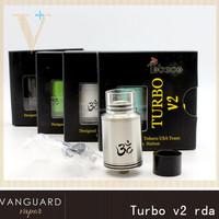 Wholesalers China Turbo rda atomizer 1:1 clone , 13 heavens 9 hells rda / Velocity rda / Turbo v2 rda with factory price