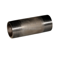 4 inch stainless steel nipple male thread hose nipple tube fittings