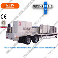 Longshun Color Steel Roofing Concrete Roof Tile Machine Prices