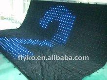 flexible LED curtain 2012 HOT