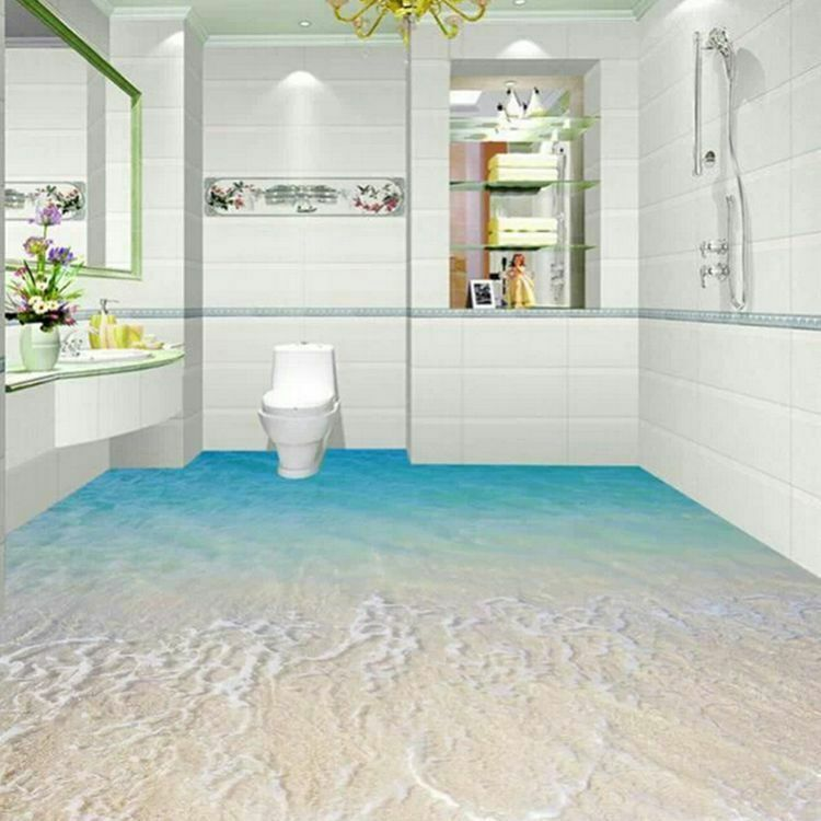 Wholesale 3d bathroom modern ceramic floor tile decorative for Bathroom designs 3d