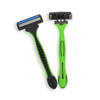 Shaving & Hair Removal triple blade disposable razor
