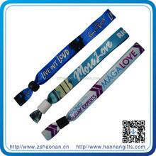 Friendship festival bracelet disposable /animal print wristbands