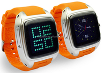 Android 4.2 Support Google Map Dual Core Gear Smart Watch Phone 4GB ROM Support Andriod App Download and Install