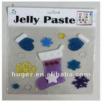 jelly window cling stickers(TV007)
