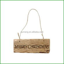 Decorative Merry Christmas Wooden Sign Christmas Ornament