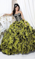 2014 New Hot Black+Yellow Quinceanera Dresses Bridal Prom Party Ball Gown Custom bridesmaid dress patterns