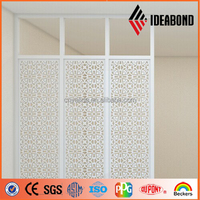 2015 Screen Design CNC Carved Aluminum Hollow Panel with Polyester Coating