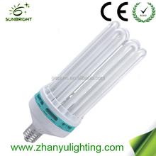 China manufacturer T5 CFL 8u energy saving bulb save light energy saver lamp 200w with high lumen