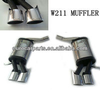 stainless steel muffler for BENZ E-Class W211 AMG E63 Style 03~09