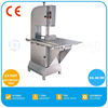 Stainless Steel Meat And Bone Cutting Machine With Movable Table And CE Certified