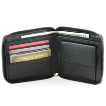 2015 New style genuine rfid wallet wholesale Hot sale leather coin wallet Factory supplier of wholesale leather rfid wallet