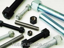 Factory supply high tensile stud bolts with nuts