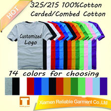 2014 high quality cotton T shirt for Promotion/Advertising