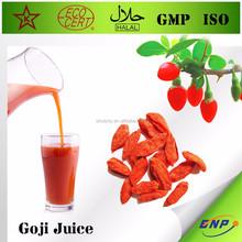 top sell high quality organic goji berry juice