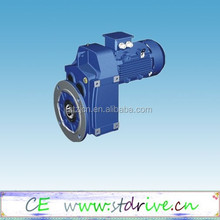 ST Drive Brand F series parallel shaft solid shaft helical gear box