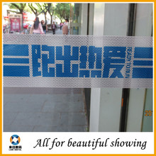 140g 0.914/1.27/1.52*50m solvent,eco-solvent,UV printing perforated vinyl film one way vision sticker