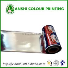 Aluminum foil heat sealing laminated film for PP ,PS ,PE,paper cup