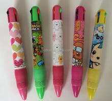 2015 top vente cheap wholesale jumbo 3d impression de bande dessinée cadeau stylo