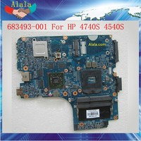 Top Quality 683493-001 Intel Mainboard For HP 4540S Laptop Motherboard