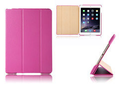 In Stock! Factory Wholesale Hot PU Leather Case For iPad Air 2 Cover Stand Function Cover For iPad Air 2 Smart Case Tablet Aypad