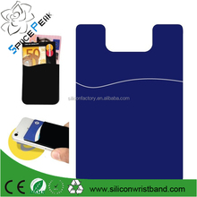2015 Protective Silicone Phone Smart Wallet / Silicone Card Holder for iPhone / Mobile Phone Bags