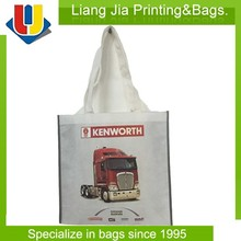 Eco Friendly Promotional Non Woven Tote Bags With Heat Transfer Printing For Promotion