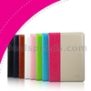 Kakusiga Shine Series Dual Color Stand Flip Cover Leather Case For iPad Air