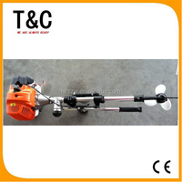 52cc chinese fire-new 2.5 HP small 2 stroke outboard motors for inflatable boats