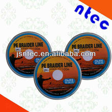 8 strand colored braided fishing line