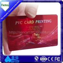 OEM printed single or double sided spot uv business card printing
