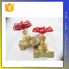 2C Full port big size rising stem brass gate valve