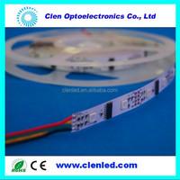 IP40 dmx512 separate color changing strip 24/30/34leds dmx led stirp digital led strip