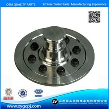 Semi trailer hardening 2'' and 3.5'' bolted king pin