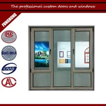 New house window styles with white oak color for side hung casement window