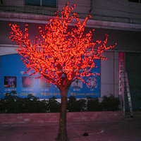 LED light flower artificial tree no leaves