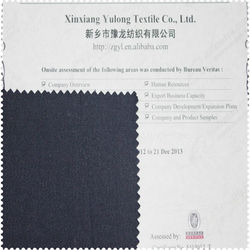 Top Quality Water Proof Cotton Fabric For Industrial Garments