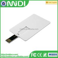 OEM logo printing OEM Ultra thin usb flash drive Slim Credit Card Shape pen drive 1gb 2gb 4gb/8gb/16gb/32gb/64g/128gb